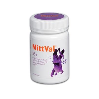 MittVal 55+ 100st på apotek.nu EAN 7315692420993