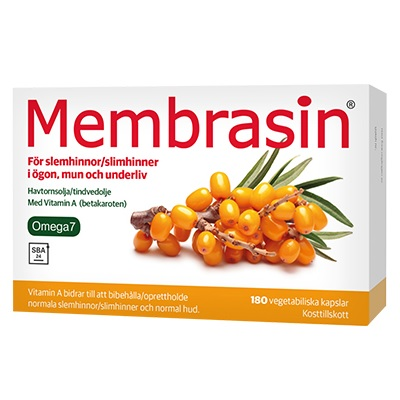 Membrasin 60 kapslar på apotek.nu EAN 6420618730016