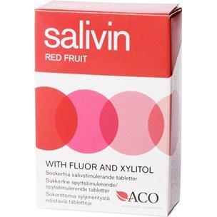 Salivin Red Fruit Dry mouth 50g på apotek.nu EAN 7319861013153