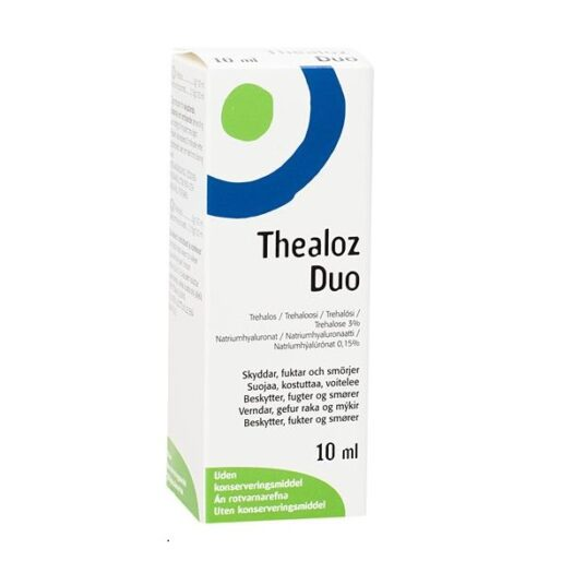 Thealoz Duo Ögondroppar 10ml på apotek.nu EAN 3662042002465