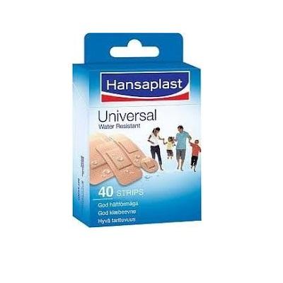 Hansaplast Universal Plåster 40st på apotek.nu EAN 4005800099977