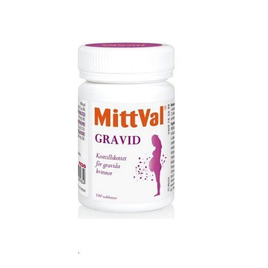 MittVal Gravid 100st på apotek.nu EAN 07315697656984