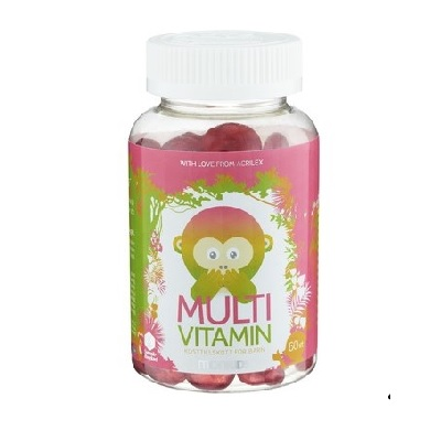 Monkids Multivitamin 60st EAN 7350027854432