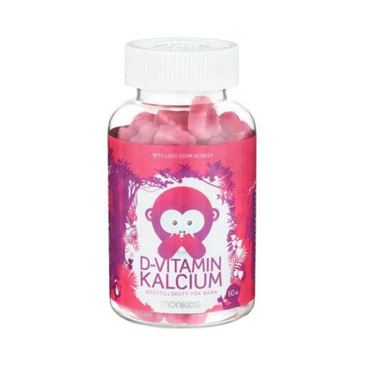 Monkids D-Vitamin och Kalcium på apotek.nu EAN 7350027854463