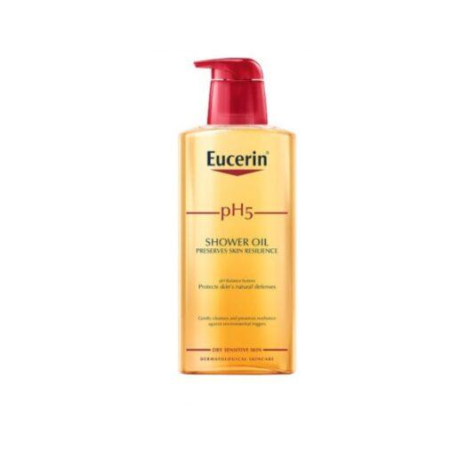 Eucerin pH 5 Shower Oil Parfymerad 400ml på apotek.nu EAN 4005800194894