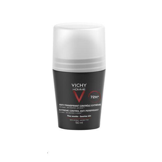 Vichy Homme Extreme Control Antiperspirant 72H på apotek.nu EAN 3337871320362