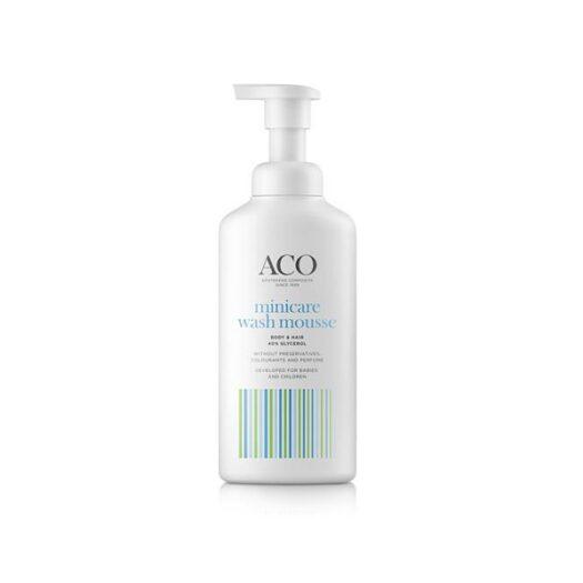 ACO Minicare Wash Mousse 200ml på apotek.nu EAN 7319861016970