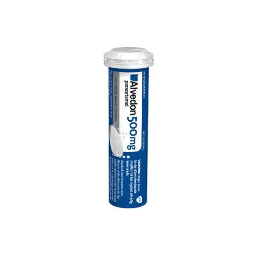 Alvedon brustablett 500 mg 20 st på apotek.nu EAN 7046261563413