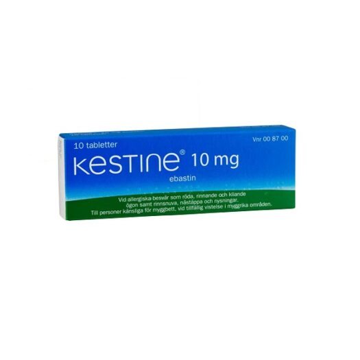 Kestine filmdragerad tablett 10 mg 10 st på apotek.nu EAN 7046260087002
