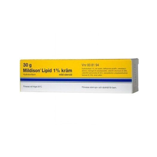 Mildison Lipid, kräm 1 % 30 g på apotek.nu EAN 5702191013719