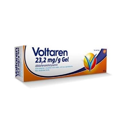 Voltaren Gel 23,2 mg/g 100 g på apotek.nu EAN 7046265330226