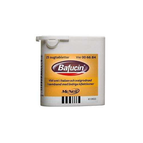 Bafucin sugtabletter 25 st