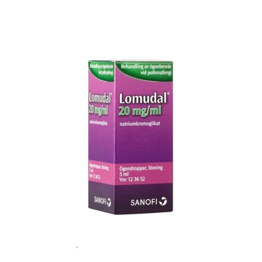 Lomudal ögondroppar 5ml EAN 07046261236522