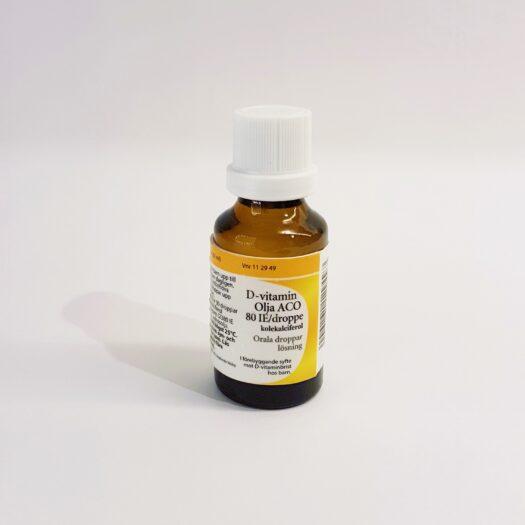 D-Vitamin olja ACO droppar