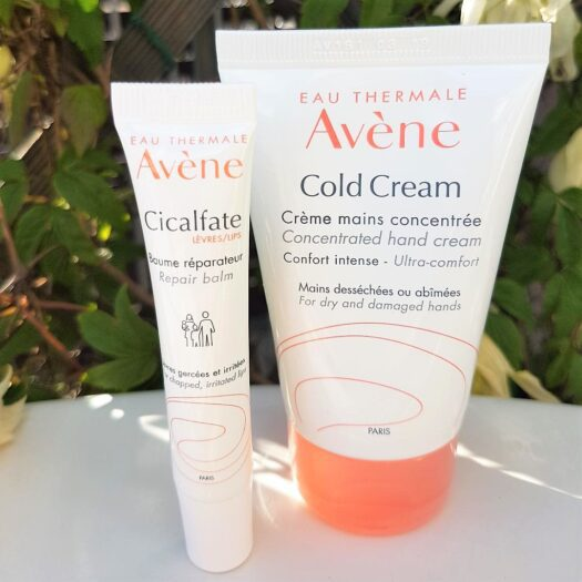 Avene Cold Cream Hand Cream och Avené Cicalfate lips