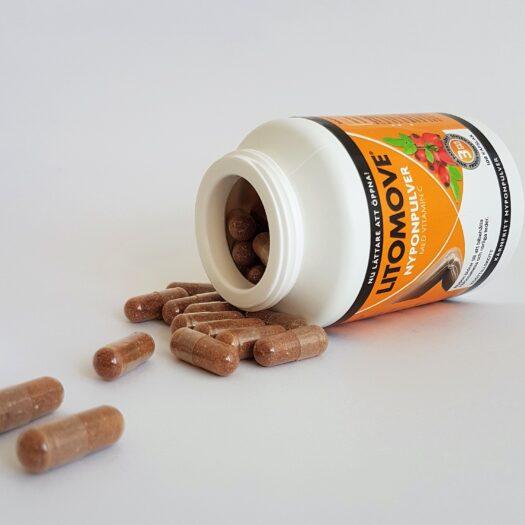 Litomove Nyponpulver med C-vitamin