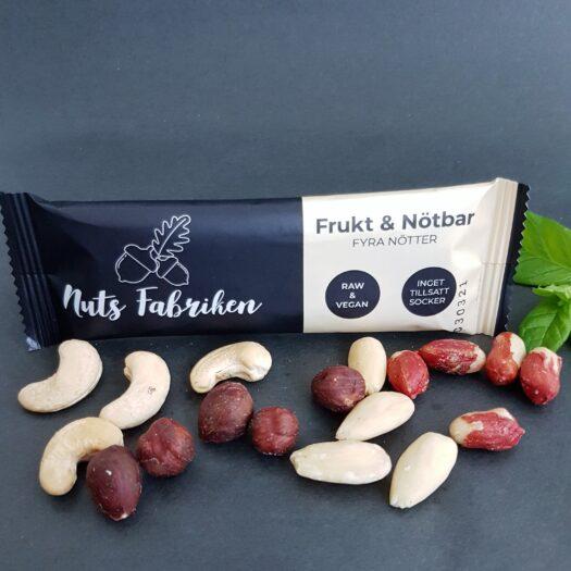 Nuts Fabriken Frukt & Nötbar Fyra Nötter