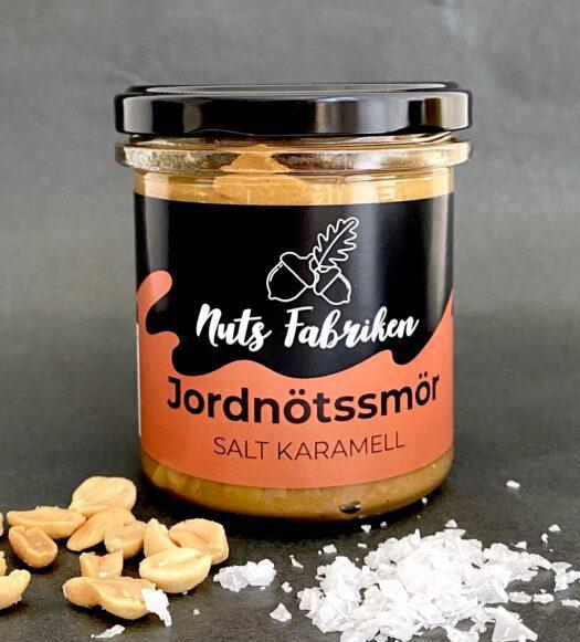 Nuts Fabriken Jordnötssmör Salt Karamell