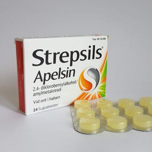 Strepsils Apelsin Sugtablett