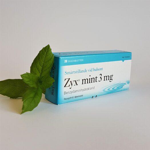 Zyx Mint halstabletter