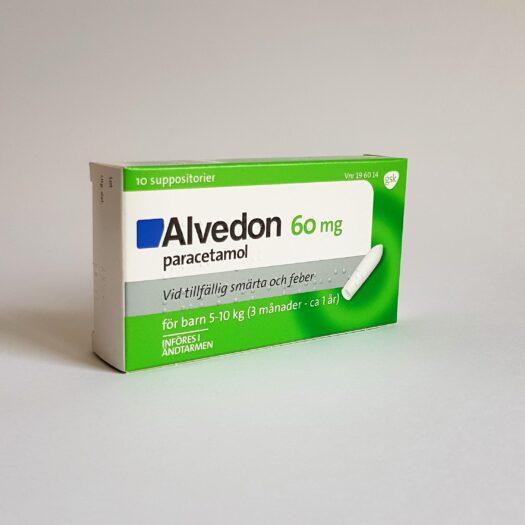 Alvedon suppar 60 mg