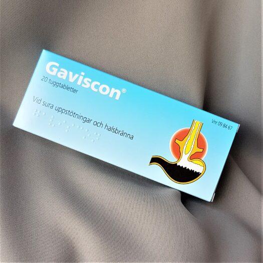 Gaviscon tuggtabletter