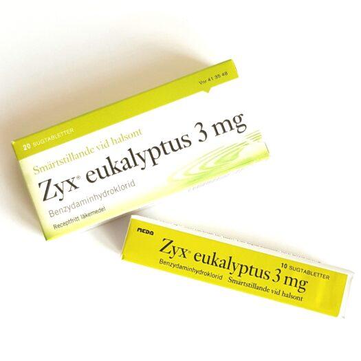 Zyx Eukalyptus Halstabletter