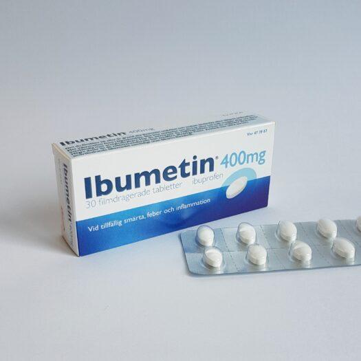 Ibumetin 400g filmdragerade tabletter