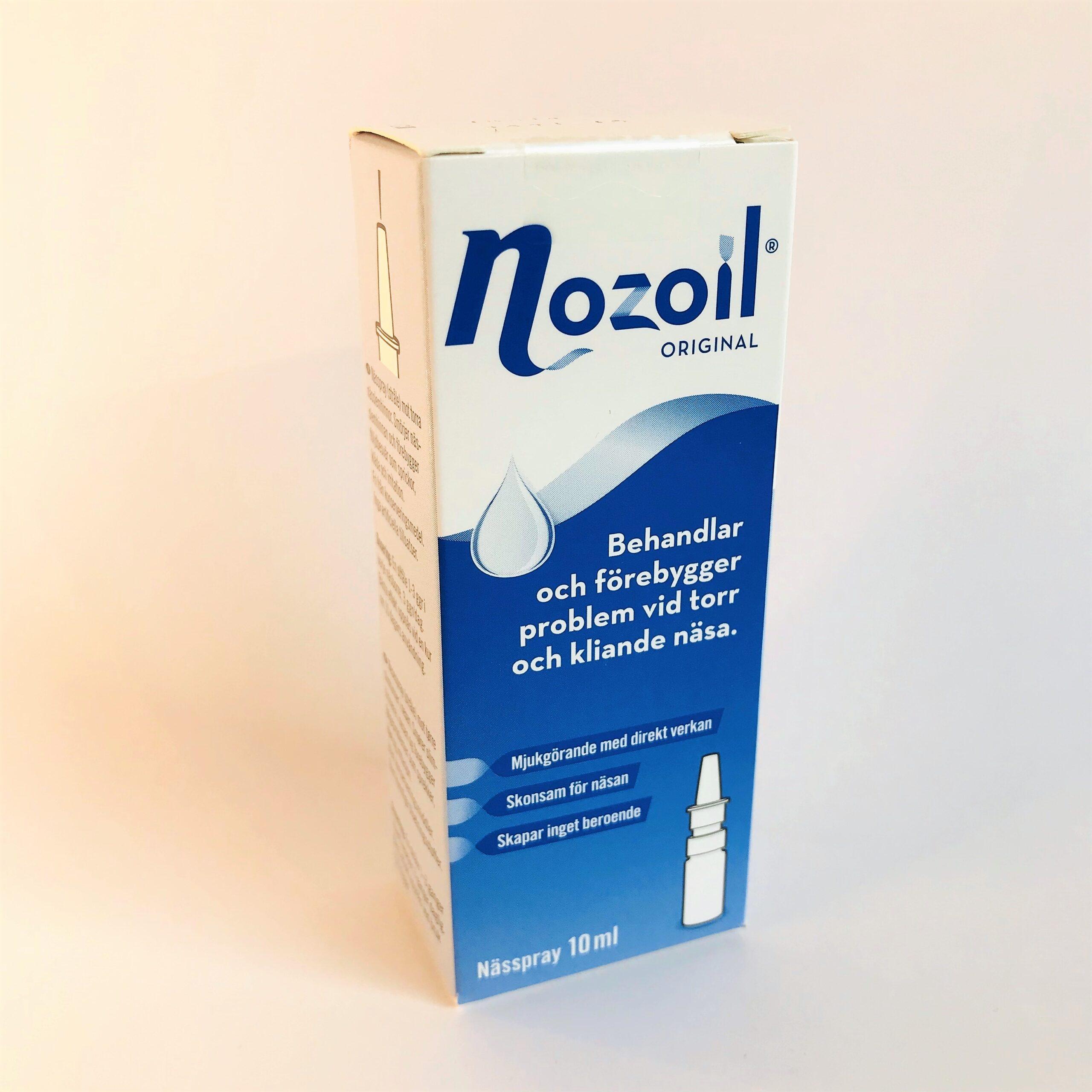 sår i näsan av nässpray