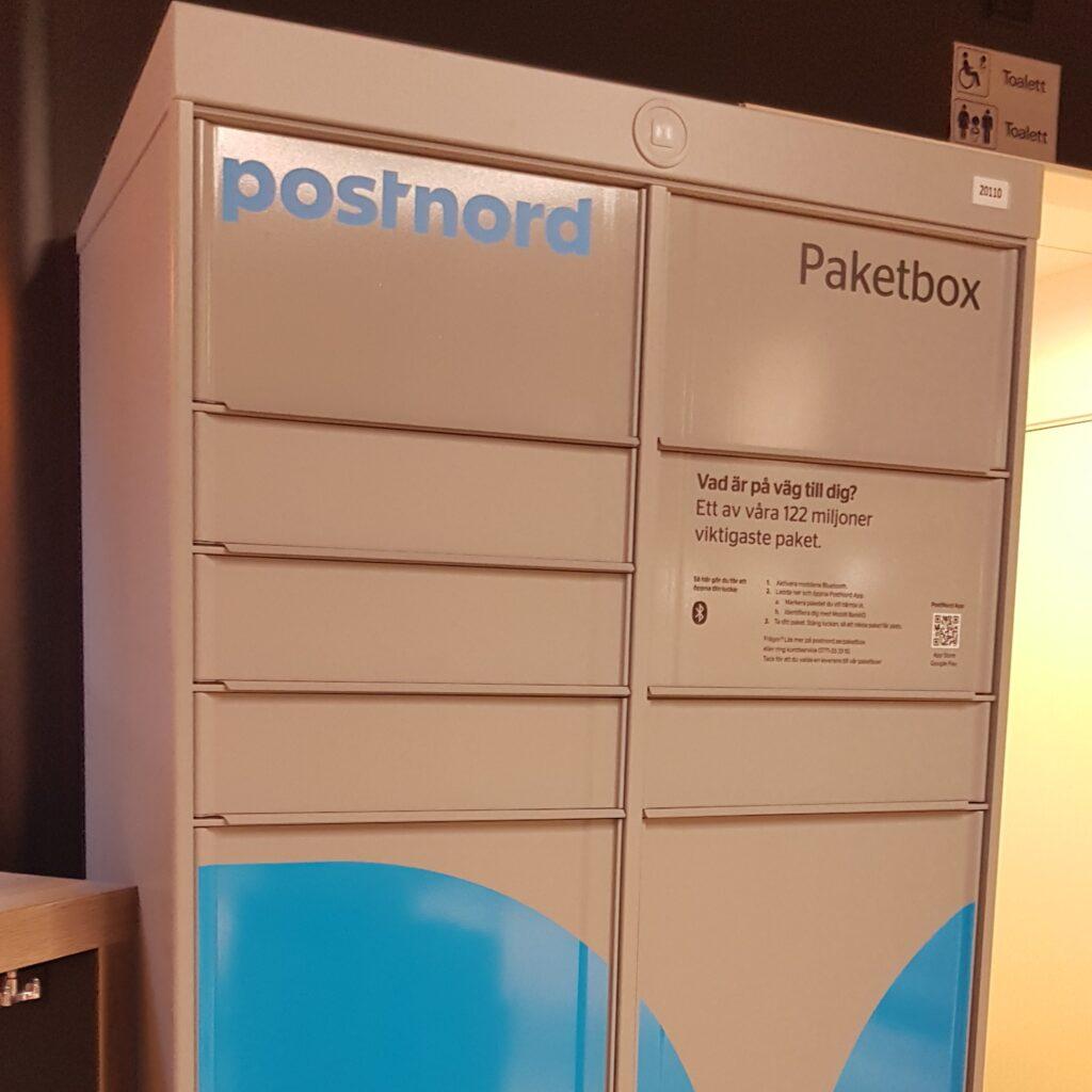 PostNord Paketbox, nytt fraktalternativ när du handlar på apotek.nu