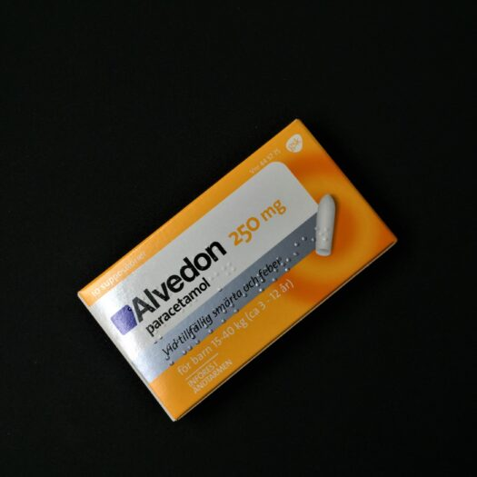 Alvedon suppositorier 250 mg