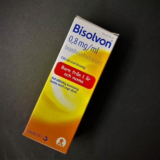 Bisolvon oral lösning 0,8 mg/ml