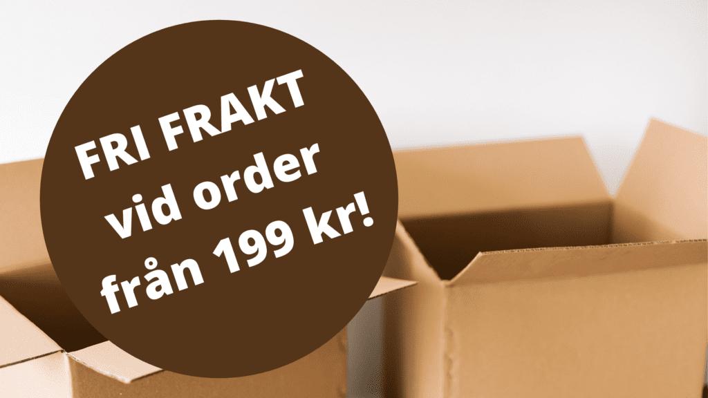 Fri frakt vid order från 199 kr! på Apotek Nu