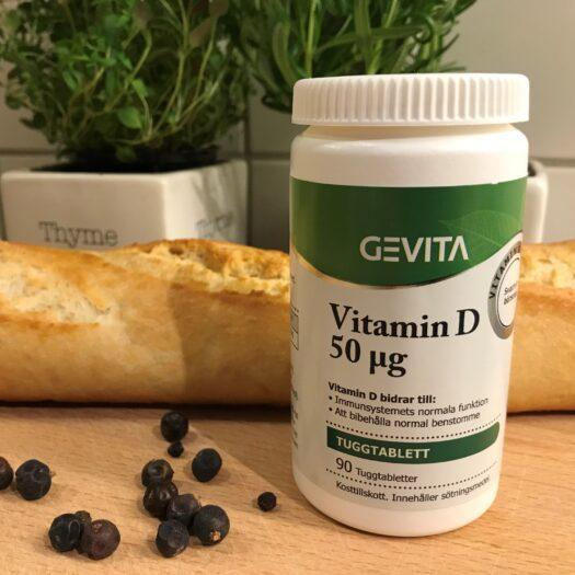 Gevita D-vitamin kosttillskott