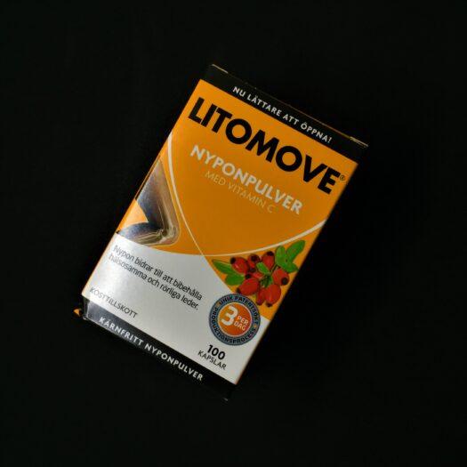 Litomove Nyponpulver 100 kapslar