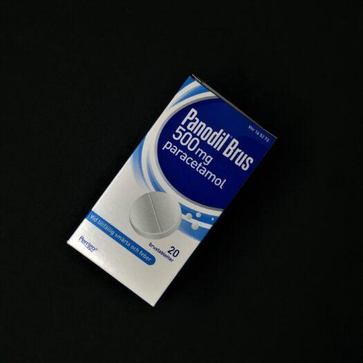 Panodil Brus 500 mg