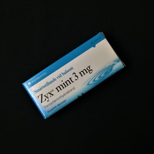 Zyx Mint sugtabletter