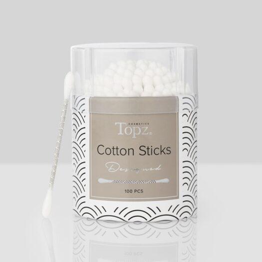Topz Cosmetics Designed Cotton Sticks