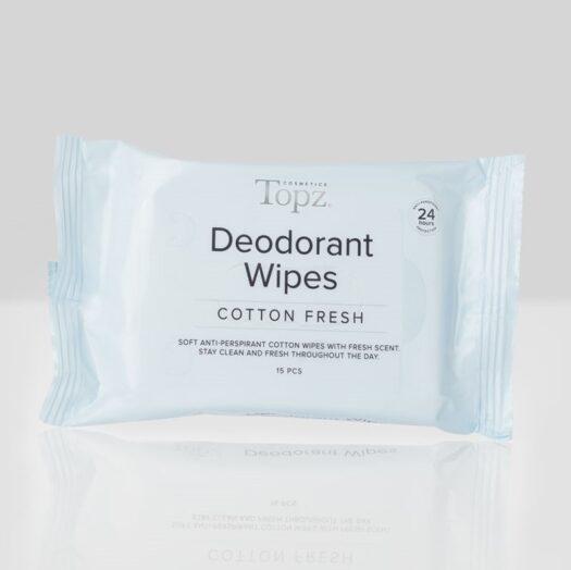Tops Deodorant Wipes Cotton Fresh