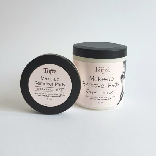 Topz make up remover pads