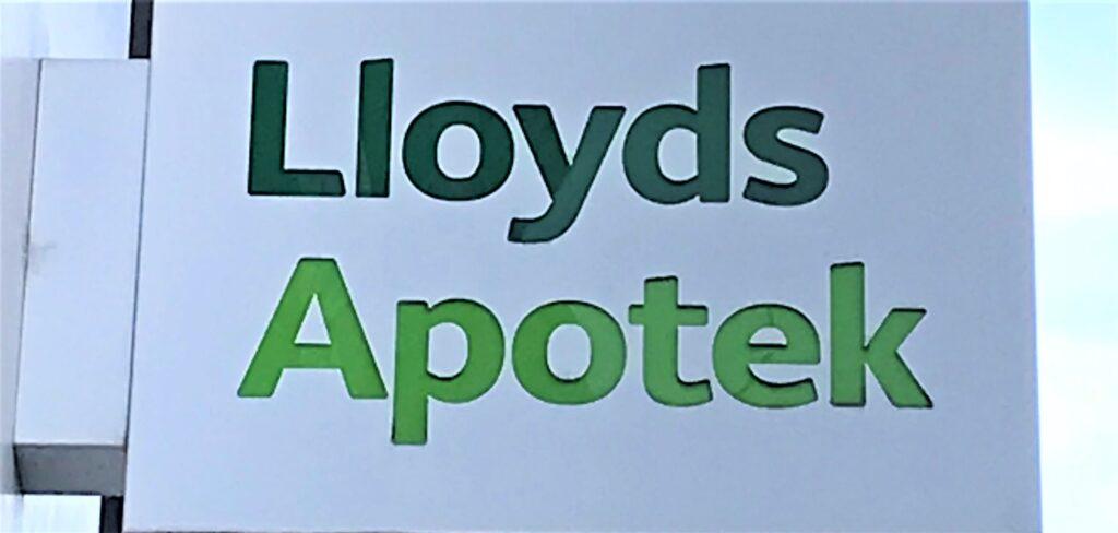 Hämta ut recept på Lloyds Apotek